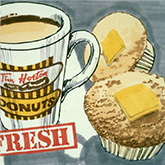 Muffins and cookies advertisement