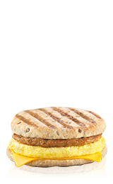 Flatbread Breakfast Panini