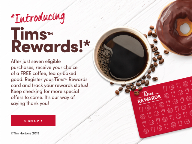 *Introducing Tims™ Rewards!*