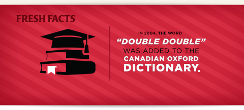 Double Double added to Candian Oxford dictionary