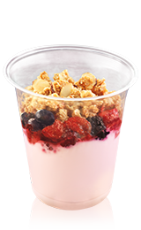 Greek Yogurt with Mixed Berries & Almond Granola