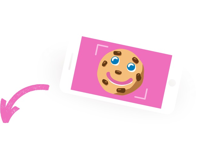 Share a <span>#SMILECOOKIE</span> Selfie!