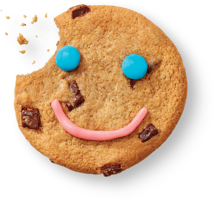 Smile Cookie flottant